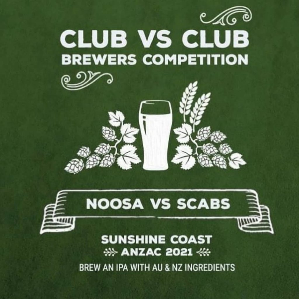 Collab – Noosa Homebrew Club and SCABS